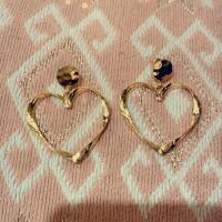boucles collier coeur