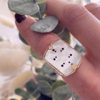 Bague satellite bijoux