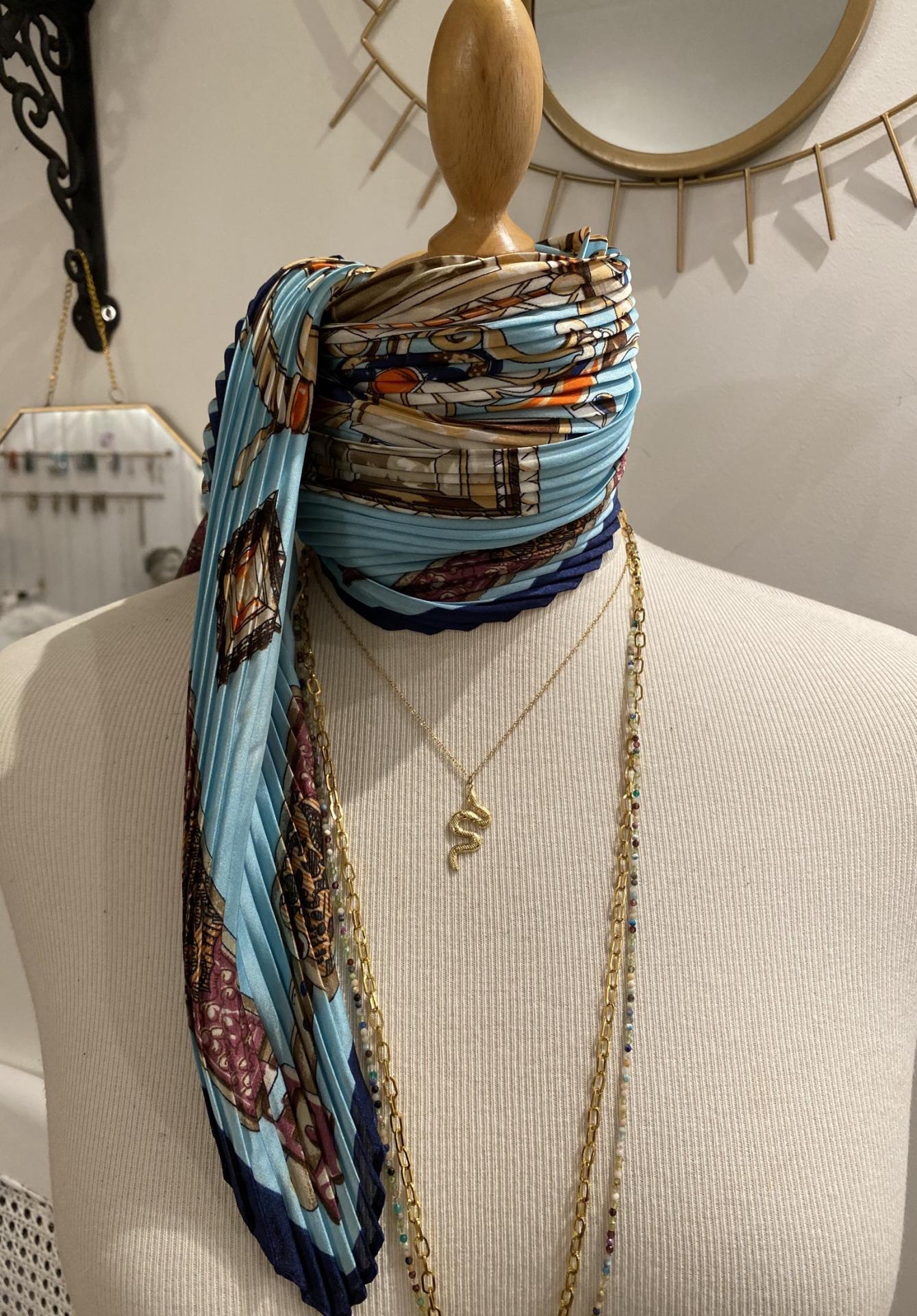 foulard carré de soie