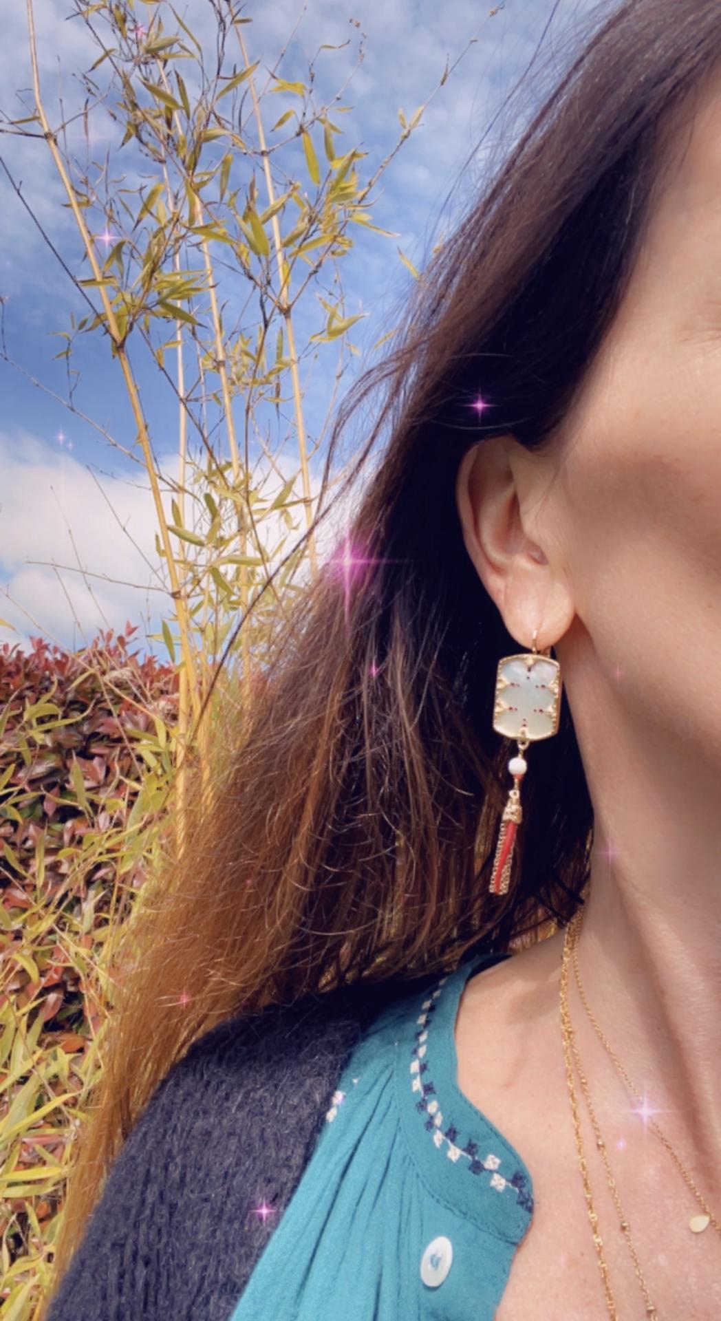 boucles satellite Jewelery